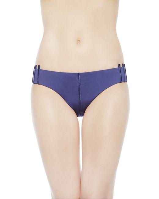 La Perla   Blue Triangle Bikini Top   Lyst
