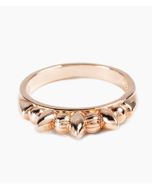 Pamela Love | Pink Thin Spike Ring | Lyst