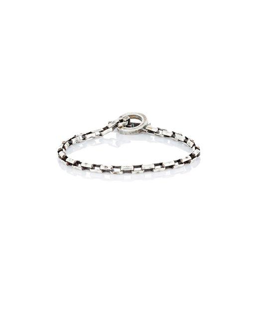 Title Of Work | Metallic Box-chain Bracelet for Men | Lyst