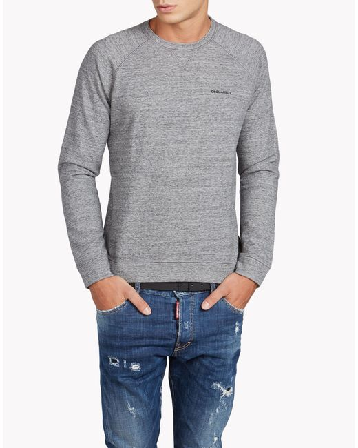 DSquared² | Gray Sexy Muscle Fit Sweatshirt for Men | Lyst