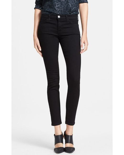 Current/Elliott | Black 'the Stiletto' Skinny Jeans | Lyst