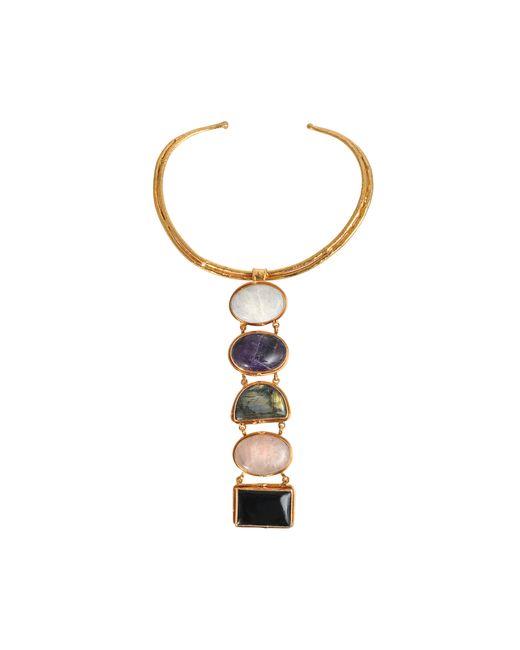 Sylvia Toledano   Metallic 5 Stones Byzance Necklace   Lyst