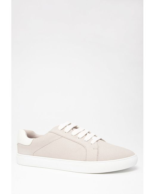 Forever 21 | Gray Classic Canvas Sneakers | Lyst