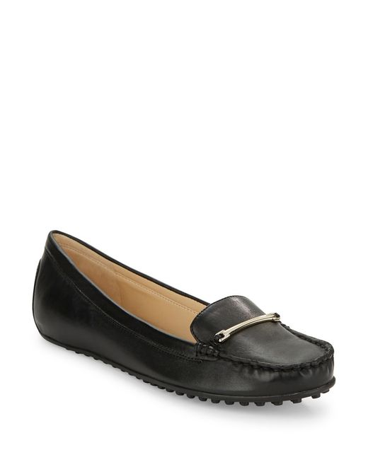 Nine West | Black Hot Toddy Loafers | Lyst
