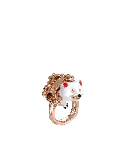 Vernissage Jewellery | White Ring | Lyst