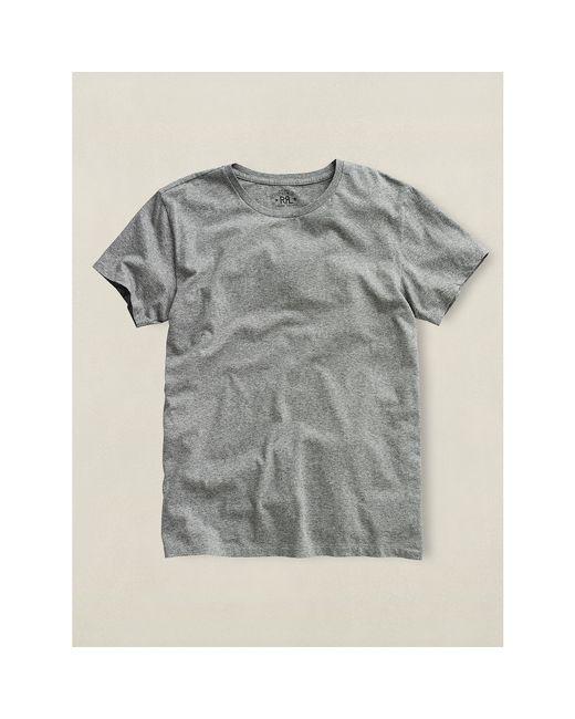 RRL | Gray Crewneck T-shirt for Men | Lyst