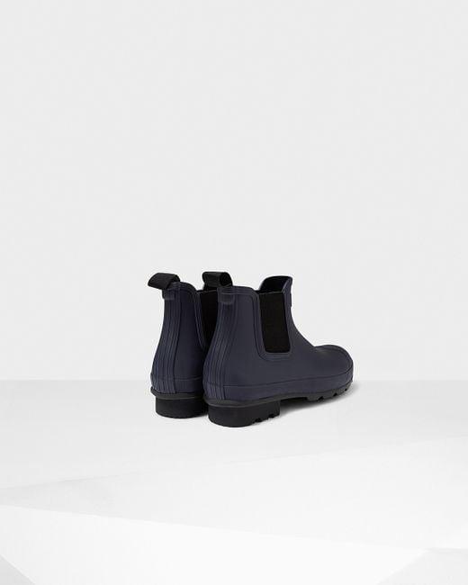 Hunter | Multicolor Men's Original Dark Sole Chelsea Boots for Men | Lyst