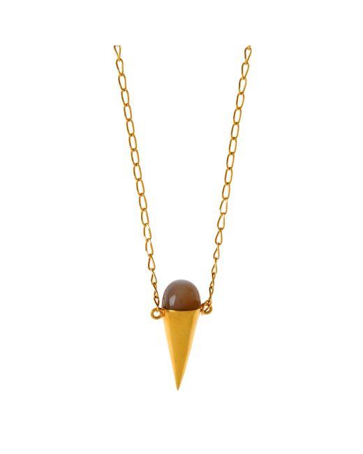 Alexandra Alberta | Metallic Moma Moonstone Necklace | Lyst