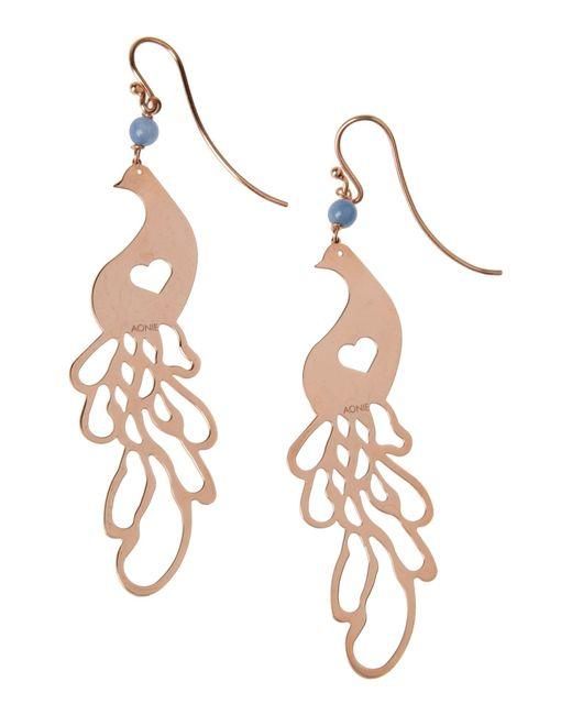 Aonie | Metallic Earrings | Lyst