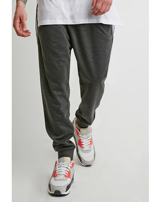 Forever 21 | Black Drop-pocket Sweatpants for Men | Lyst