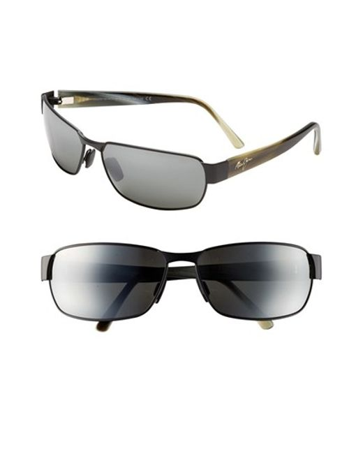 Maui Jim | 'black Coral - Polarizedplus2' 65mm Sunglasses for Men | Lyst