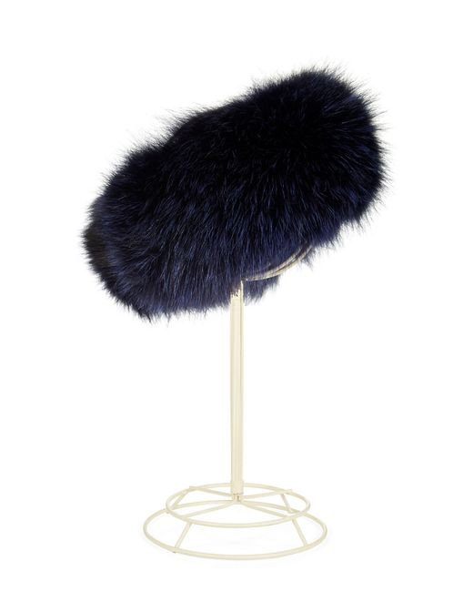 Surell | Black Fox Fur Headband/collar | Lyst