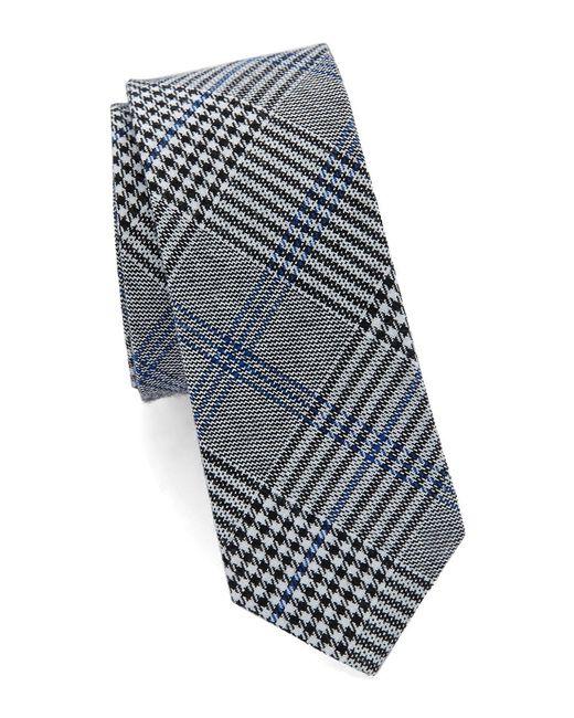 Original Penguin   Blue Plaid Cotton Tie for Men   Lyst
