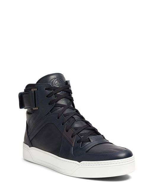 Gucci 'new Basketball' High Top Sneaker in Blue for Men ...