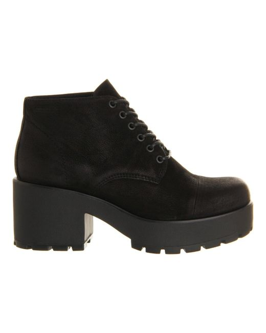 vagabond dioon lace up boot in black save 19 lyst
