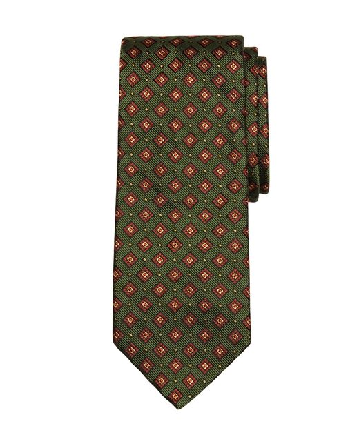 Brooks Brothers | Green Square Dot Tie for Men | Lyst