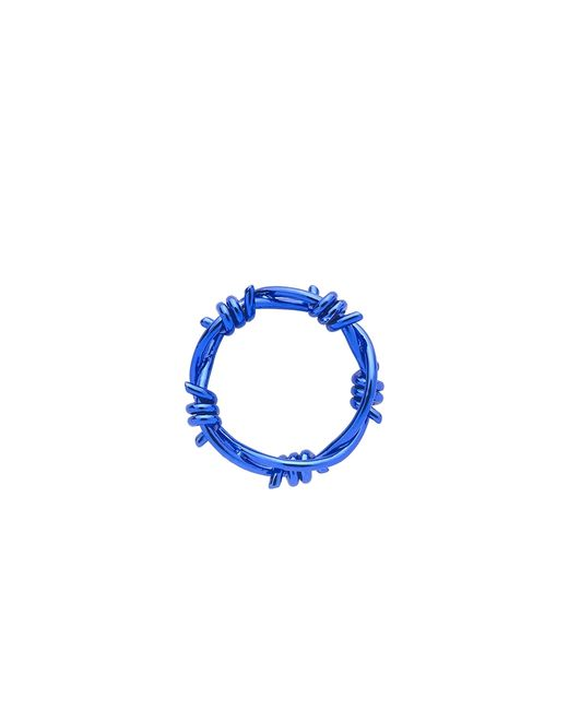 Lauren X Khoo | Editorialist Exclusive: Liberation 5-wire Blue Gold Ring | Lyst