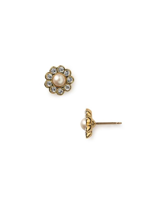 Kate Spade | Natural Park Ave Stud Earrings | Lyst