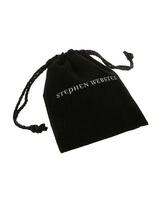 Stephen Webster   Black Le Dents De La Mer Shark Jaw Tassel Necklace   Lyst