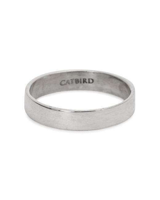 Catbird | Metallic Tomboy First Sterling Silver Midi Ring | Lyst