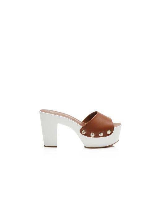 Giuseppe Zanotti | Blue Gladis Slide High Heel Sandals | Lyst