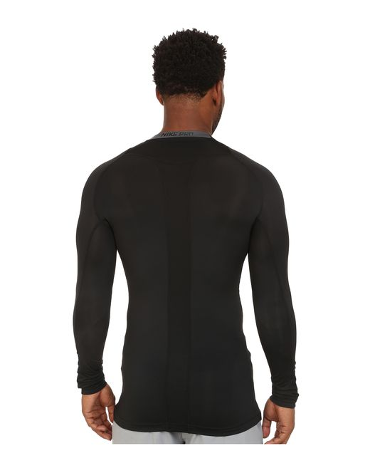 Nike   Black Pro Cool Compression L/s for Men   Lyst