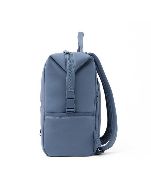 Dagne Dover Indi Diaper Backpack In Ash Blue, Large