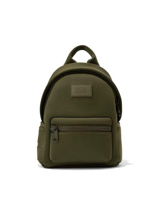 Dagne Dover Green Dakota Backpack In Dark Moss, Small