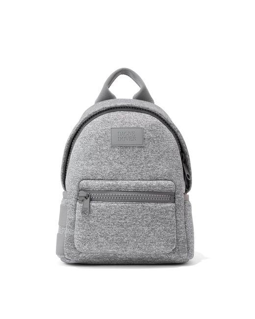 Dagne Dover Gray Dakota Backpack In Heather Grey, Small