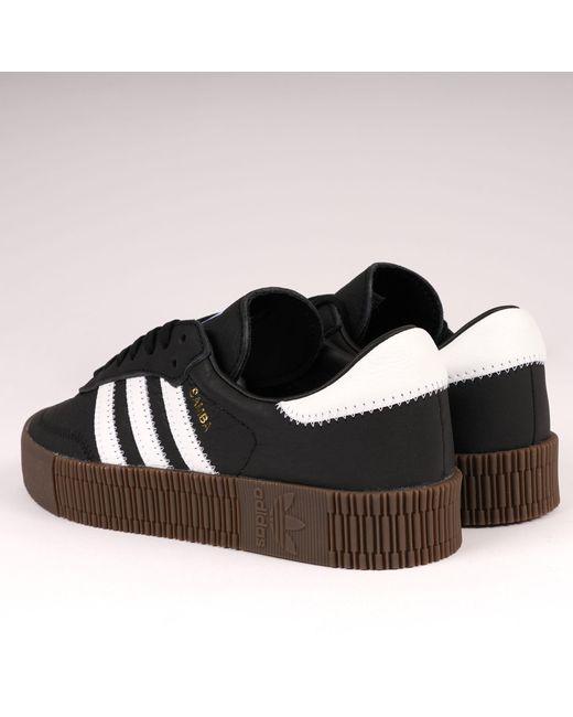 afdcb381b23 ... Adidas Originals - Black Sambarose - Lyst ...