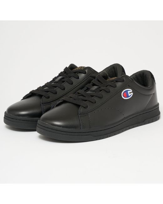 Champion - Black 919 Low Top 'c' Patch Trainers for Men - Lyst
