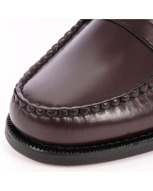 d6b71e33318 ... Sebago - Multicolor Classic Dan Waxed Leather Loafers for Men - Lyst ...