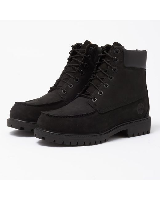 Timberland Black Icon 6-Inch Moc Boot for men