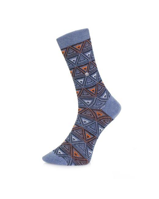 Burlington Socks | Burlington Fashion Blue Triangle Socks 20521 6662 for Men | Lyst