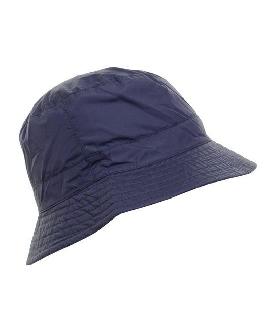 ef1ef1f2 ... Barbour - Blue Taran Bucket Hat for Men - Lyst ...