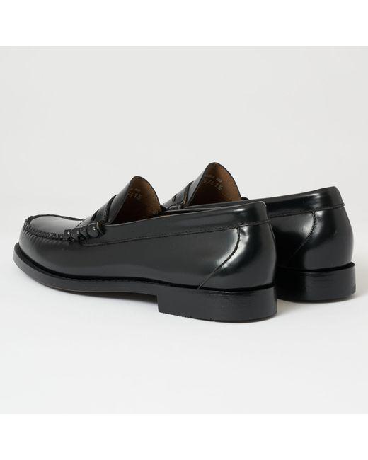 e3656c6af8e Lyst - G.H.BASS Larson Moc Penny Loafer in Black for Men - Save 17%
