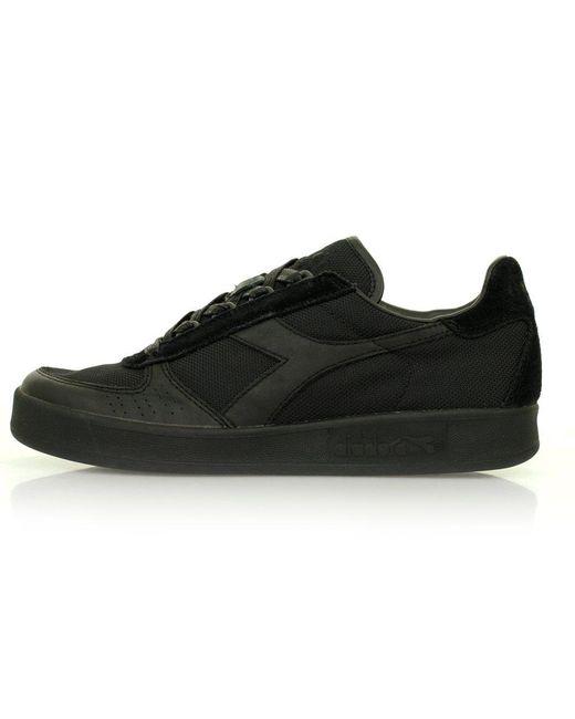 cb58f434 Diadora Lace Borg Elite Mm Sw Black Shoes 80013 for Men - Lyst