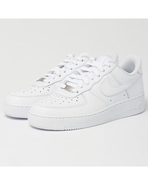 Lyst Nike Air Force 1 '07 Hombres En Blanco Para Los Hombres '07 bd7ef4