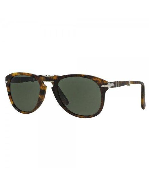 Persol | Multicolor 714 Foldable Havana Polarized Sunglasses 108/5854 for Men | Lyst