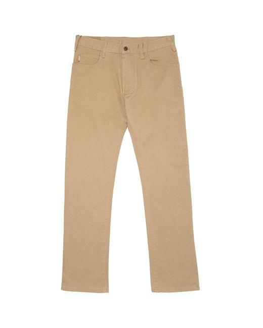 Armani Jeans - Natural Tan J45 Slim Fit Chinos for Men - Lyst