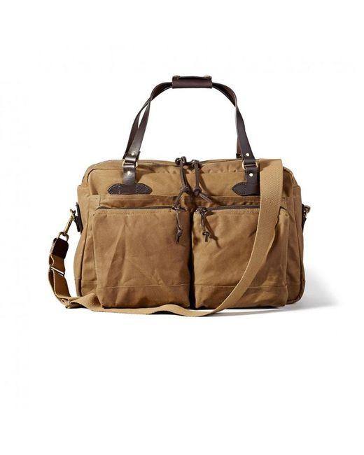 Filson - Brown 48 Hour Tin Cloth Duffle Bag - Lyst