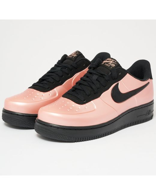 Lyst Nike Air Force 1 1 1 Foamposite Pro Cupsole Coral Stardust in   25017e
