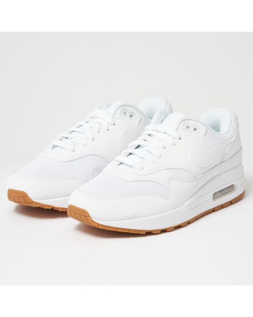 outlet store d715f c2b5a Nike - White Air Max 1 for Men - Lyst ...