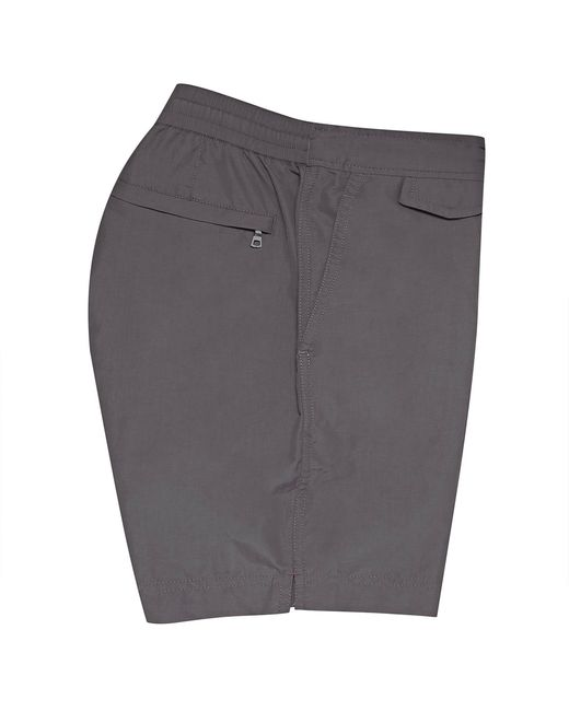 Orlebar Brown Men's Grey Standard Mid-length Swim Shorts