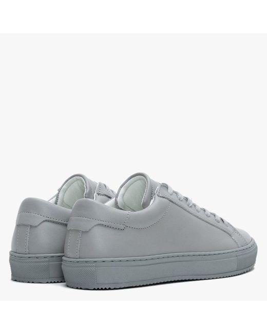 Daniel Joken Grey Leather Low Top
