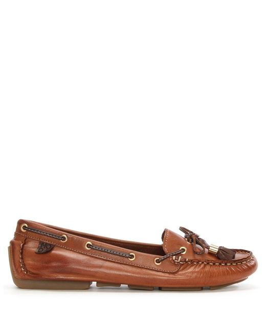 Moda In Pelle   Brown Alivia Tan Leather   Lyst
