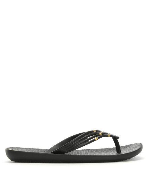 Ipanema - Premium Sunset Black Toe Post Flip Flops - Lyst