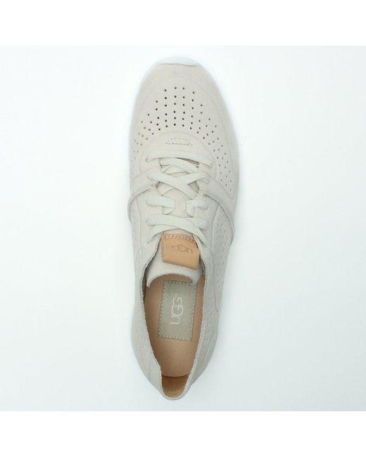 4bae1c1e994 Women's White Tye Coconut Milk Leather Sneakers