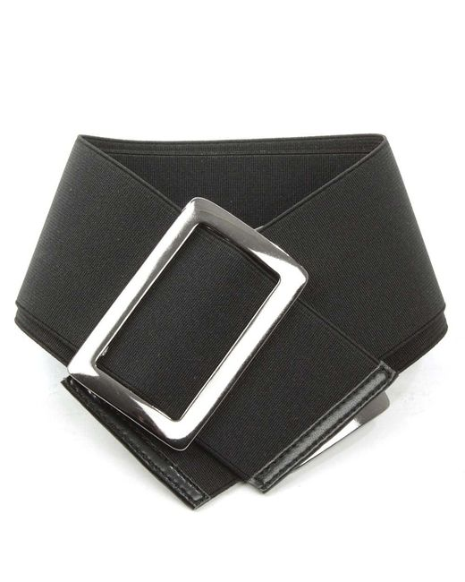 Daniel | Black Elastic Buckle Boot Belt | Lyst