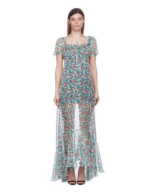 Raquel Diniz Blue Alice Short Dress